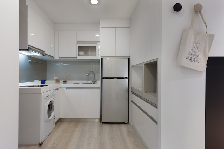 Scandinavian style kitchen by 倍果設計有限公司 Scandinavian