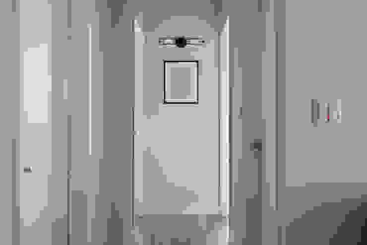 優雅與復古 經典風格的走廊,走廊和樓梯 根據 倍果設計有限公司 古典風