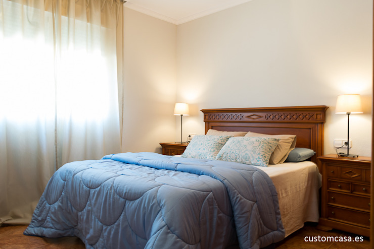custom casa home staging Classic style bedroom