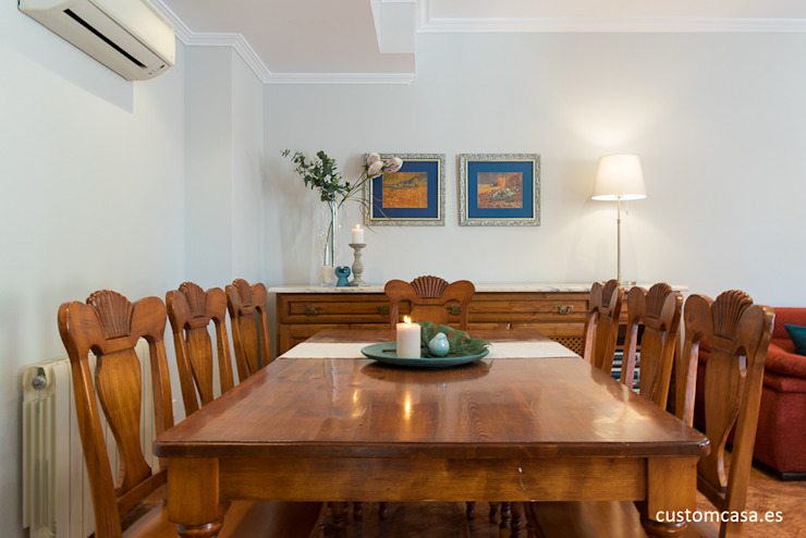 custom casa home staging Classic style dining room