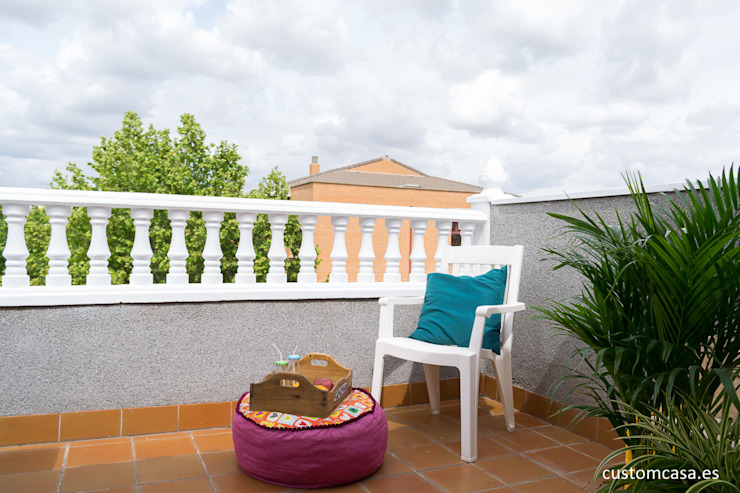 custom casa home staging Terrace