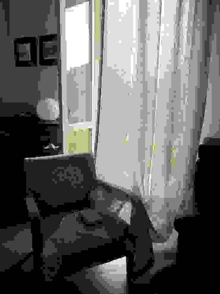 Tende in lino per un Ristorante di Miami_Florida di ERcreazioni - Eleonora Rossetti Creazioni Rustico