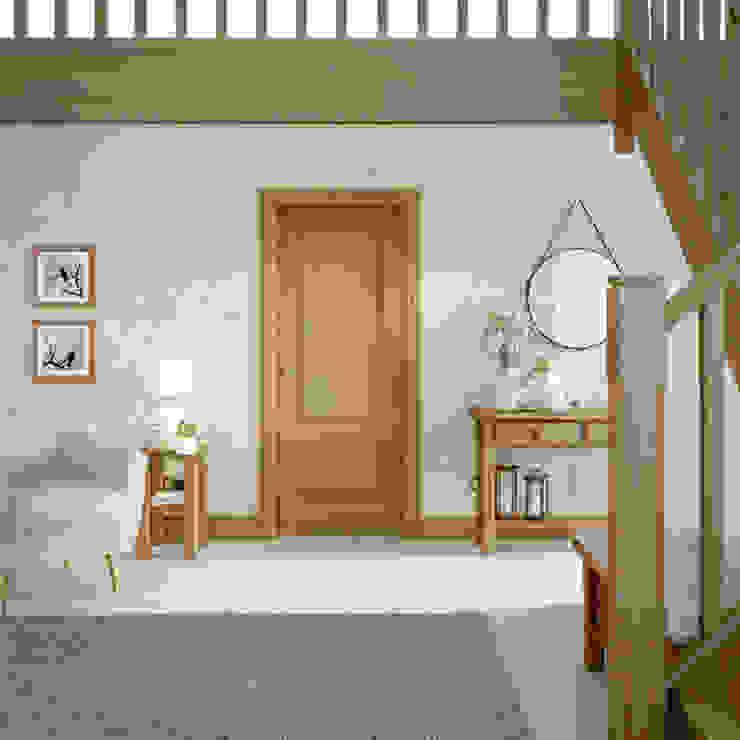 Andria Oak Internal Door: classic  by Modern Doors Ltd, Classic Engineered Wood Transparent