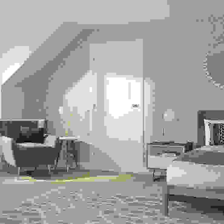 Severo White Internal Door: classic  by Modern Doors Ltd, Classic Engineered Wood Transparent