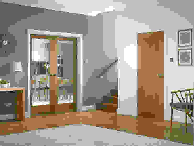 Suffolk Oak Internal Door: country  by Modern Doors Ltd, Country Engineered Wood Transparent