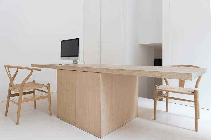 Jen Alkema architect Minimalist study/office