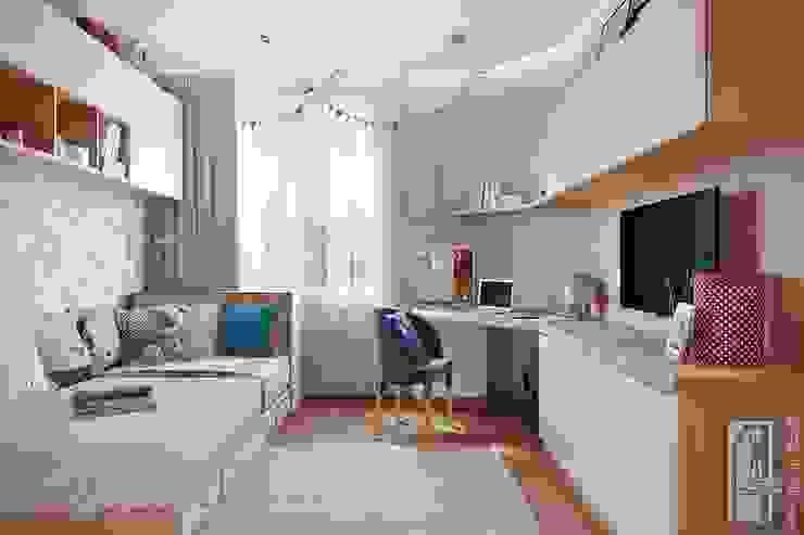 СВЕТЛАНА АГАПОВА ДИЗАЙН ИНТЕРЬЕРА Dormitorios infantiles de estilo minimalista Blanco