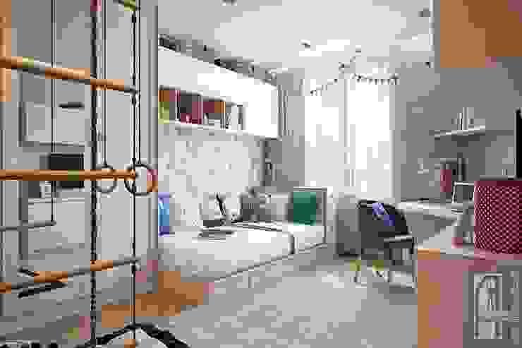 СВЕТЛАНА АГАПОВА ДИЗАЙН ИНТЕРЬЕРА Dormitorios infantiles de estilo minimalista Beige