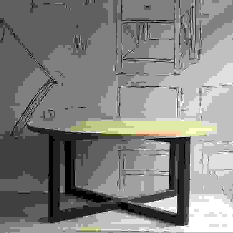 Mesa de centro de Surdeco Minimalista Madera Acabado en madera