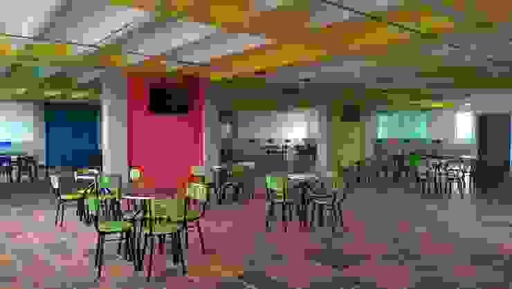 Cafeteria Comedores de estilo moderno de Lina Rosas Diseño Interior Moderno