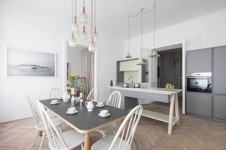 Modern kitchen by destilat Design Studio GmbH Modern