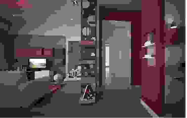 Koridor dan lorong oleh progettAREA interni & design , Eklektik