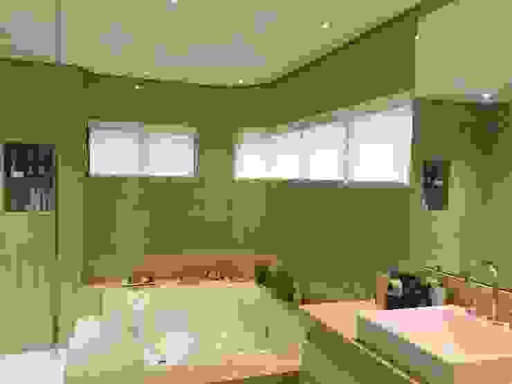 Modern bathroom by daniela kuhn arquitetura Modern