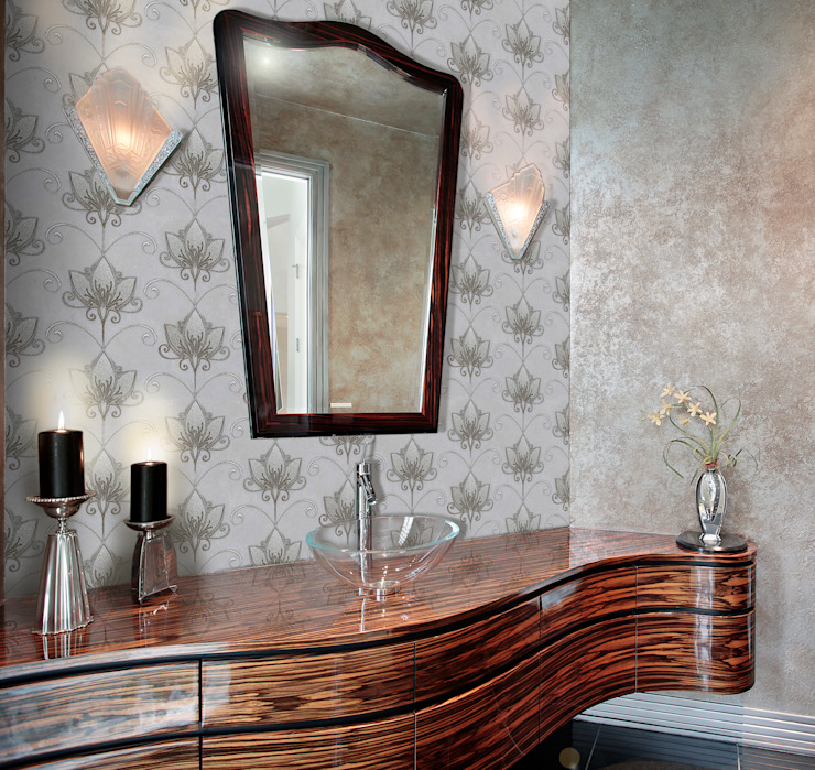 Telesto Classic style bathroom by Elalux Tile Classic Marble