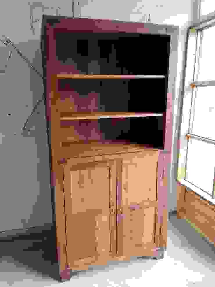 Alacena o armario en madera nativa reciclada de Surdeco Rústico Madera Acabado en madera