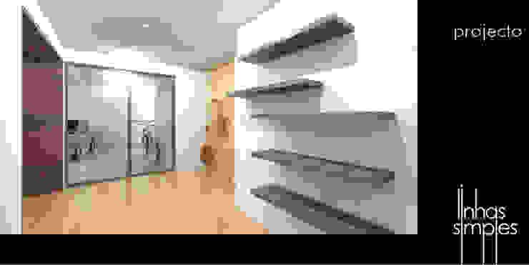 Linhas Simples Modern garage/shed