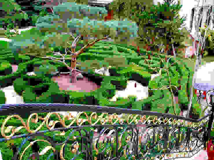 Jardines de estilo  por Укр Ландшафт Парк, Asiático