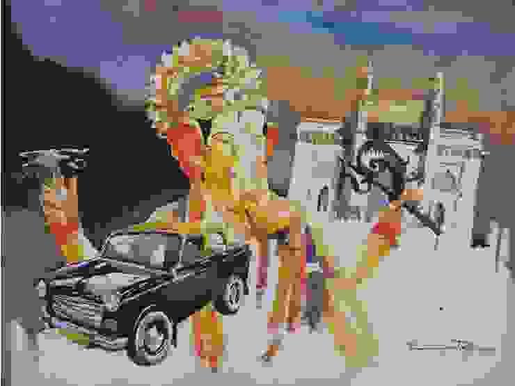 Mumbai way: asian  by Indian Art Ideas,Asian