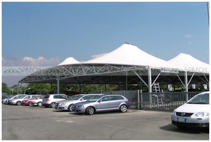 Custom Design Shade by Sprech Tenso-Structures Pvt. Ltd.