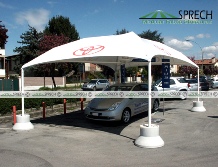 Cicogna by Sprech Tenso-Structures Pvt. Ltd.