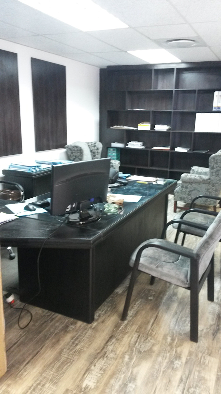 Study and offices by SCD Group Classic Wood Wood effect