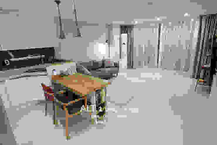 인천 만수동 만수주공아파트 4단지 아파트 인테리어 모던스타일 거실 by 알트원디자인스튜디오 모던