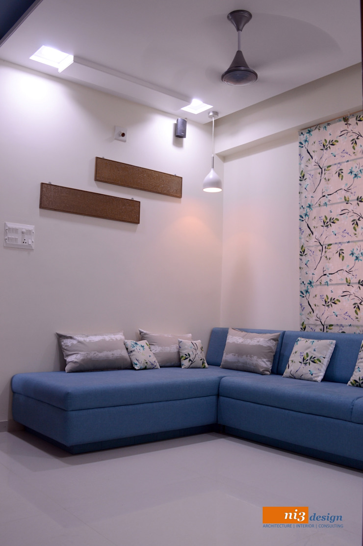 lounge area: asian  by ni3design,Asian