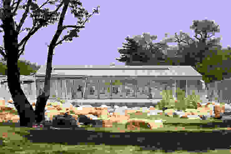 Rumah oleh 아르키움_김인철 (Archium), Modern