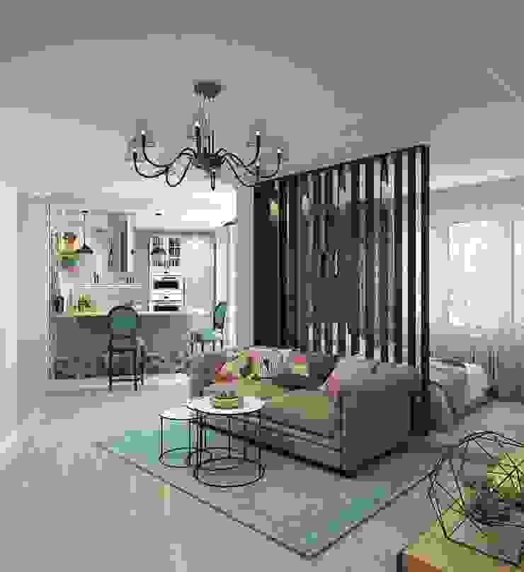 ДизайнМастер Modern Living Room Grey