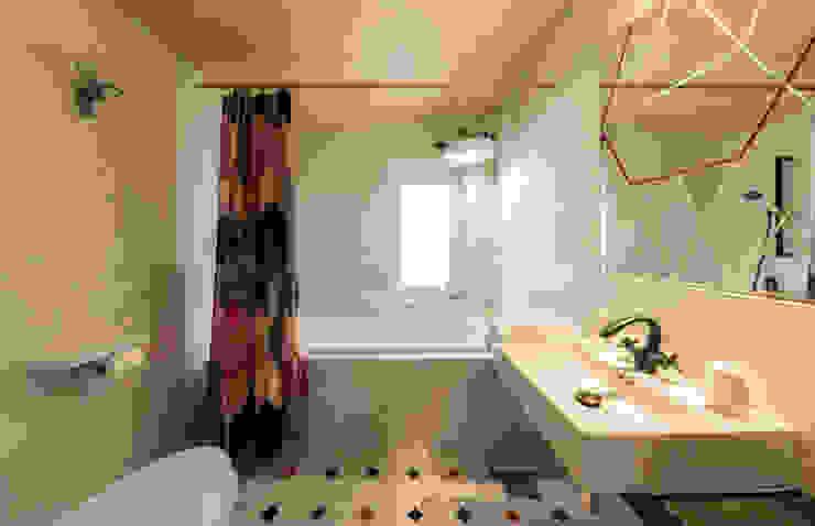 용산구 후암동 프로젝트 모던스타일 욕실 by tuneplanning 모던