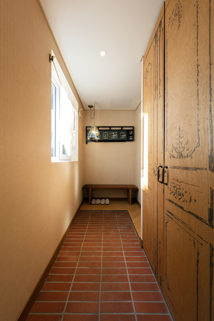 الممر الحديث، المدخل و الدرج من tuneplanning حداثي