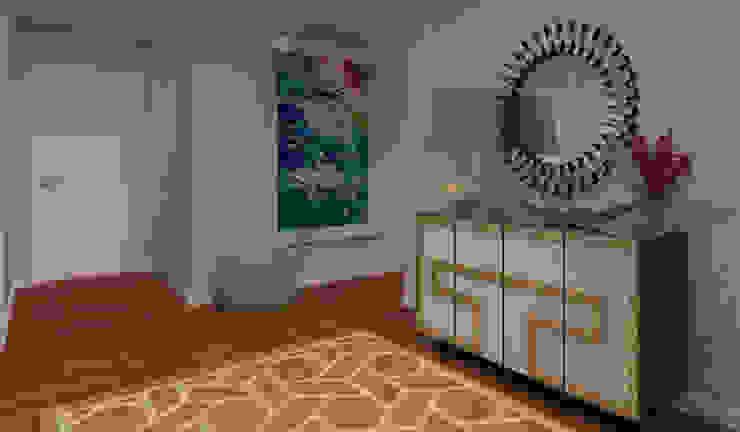 Couloir, entrée, escaliers modernes par Ana Andrade - Design de Interiores Moderne