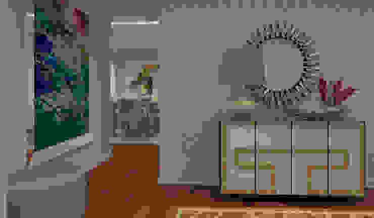 Hành lang, sảnh & cầu thang phong cách hiện đại bởi Ana Andrade - Design de Interiores Hiện đại