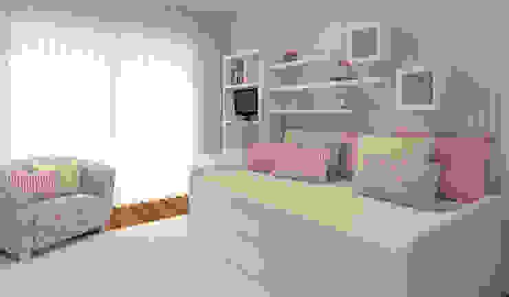 غرفة الاطفال تنفيذ Ana Andrade - Design de Interiores