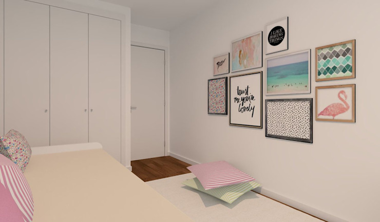 Phòng trẻ em phong cách hiện đại bởi Ana Andrade - Design de Interiores Hiện đại