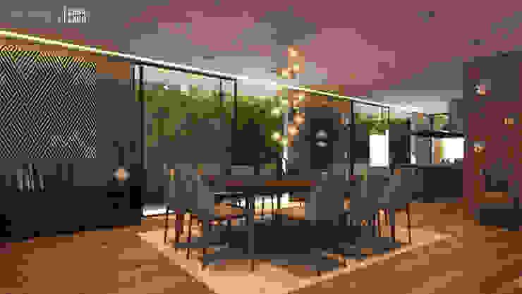 Interior Sala/Comedor de Besana Studio Moderno