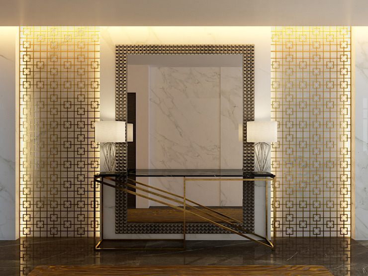 Pasillos y vestíbulos de estilo  por Paolo Ciacci , Moderno