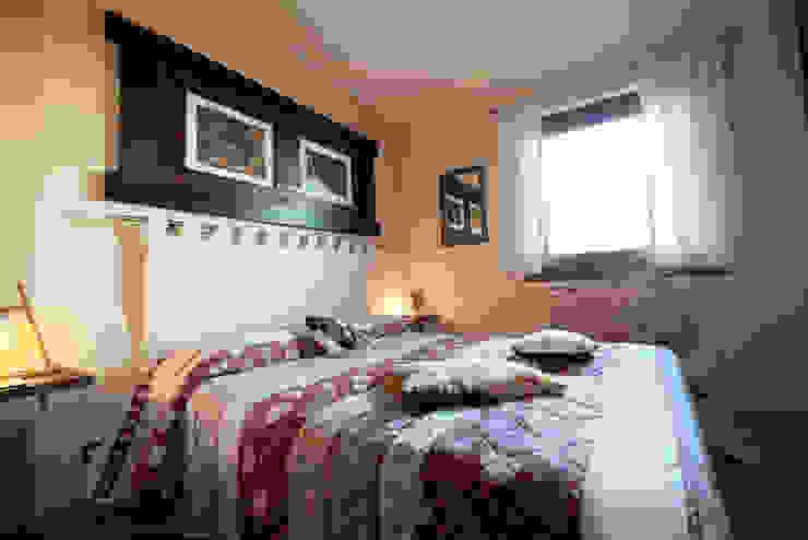 Dormitorios rurales de architetto Davide Fornero Rural Madera Acabado en madera