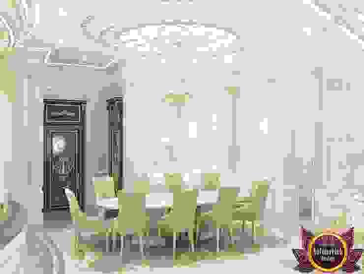 الممر والمدخل تنفيذ Luxury Antonovich Design,