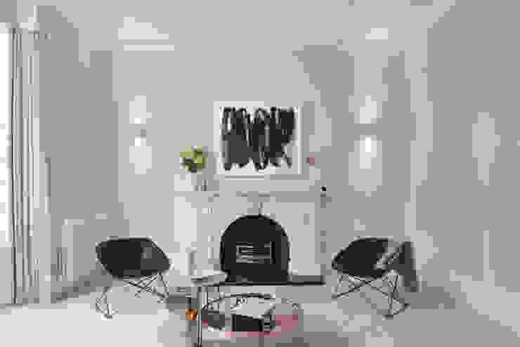 Lexham sitting room Ruang Keluarga Modern Oleh homify Modern Plastik