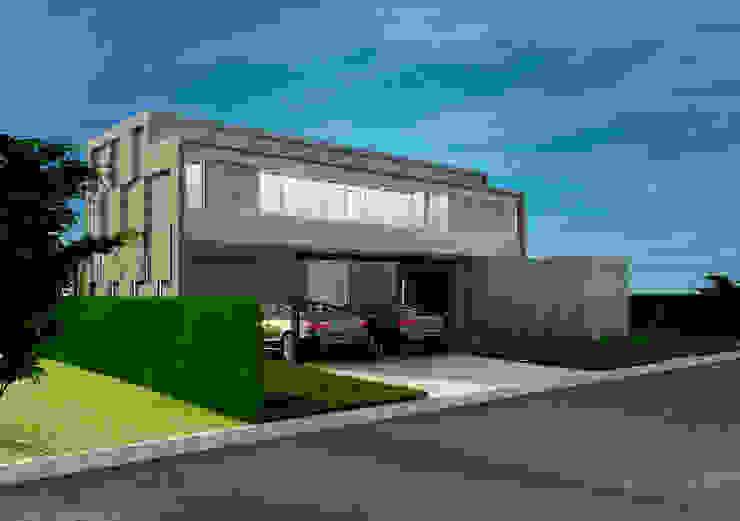 CASA RBN (2015) Casas modernas: Ideas, imágenes y decoración de unoenseis Estudio Moderno