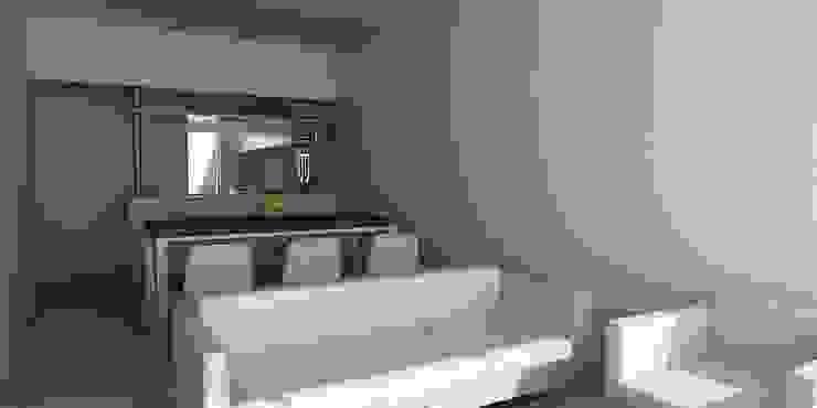 Salas de estar minimalistas por unoenseis Estudio Minimalista