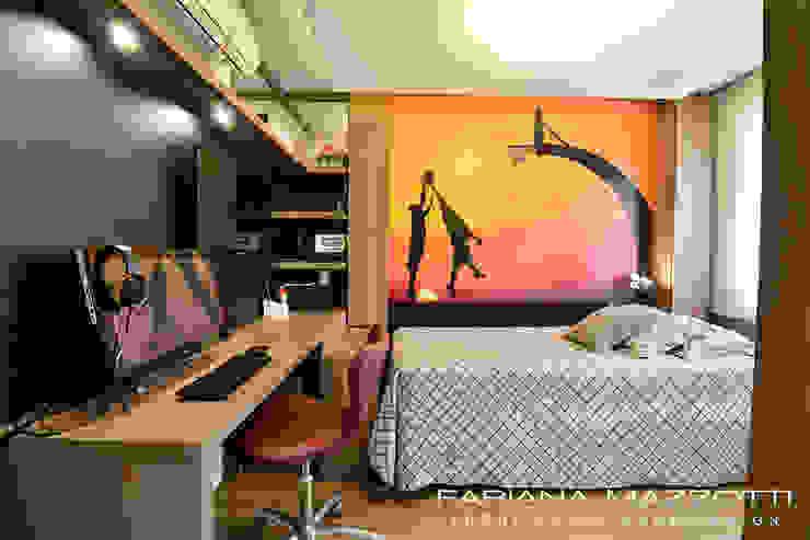 Dormitório Menino Quartos modernos por Fabiana Mazzotti Arquitetura e Interiores Moderno