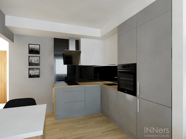 Modern kitchen by INNers - architektura wnętrza Modern