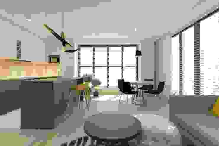 غرفة السفرة تنفيذ INNers - architektura wnętrza,