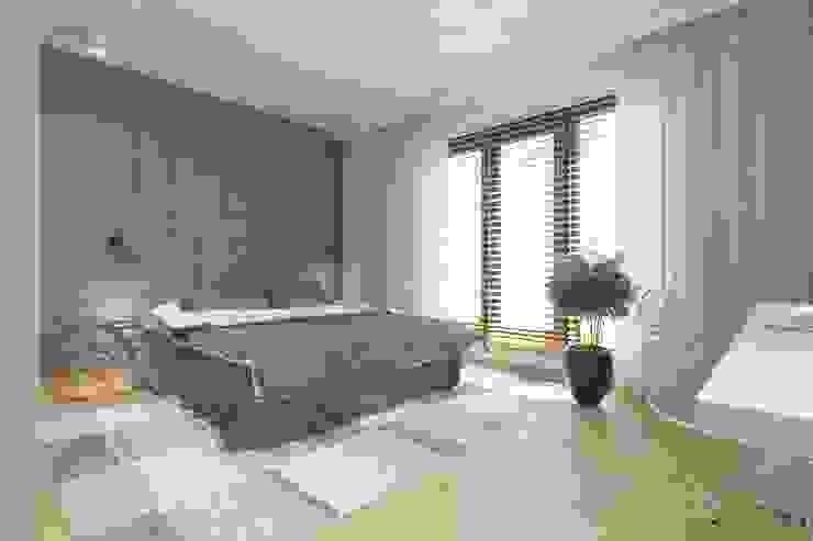 غرفة نوم تنفيذ INNers - architektura wnętrza,