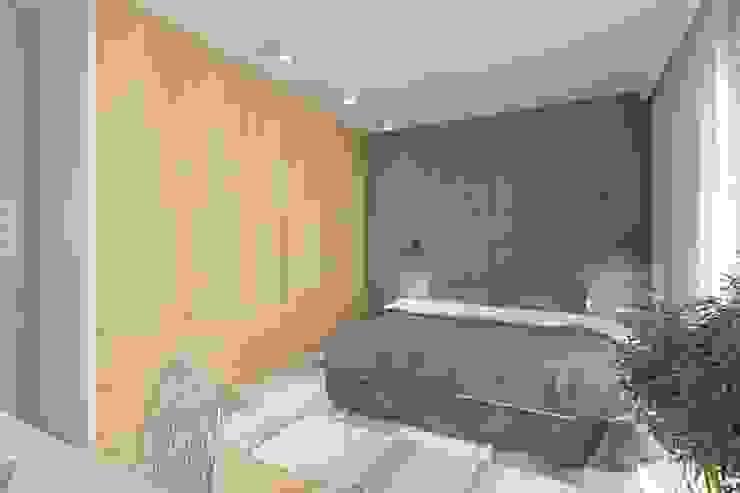 غرفة نوم تنفيذ INNers - architektura wnętrza, حداثي