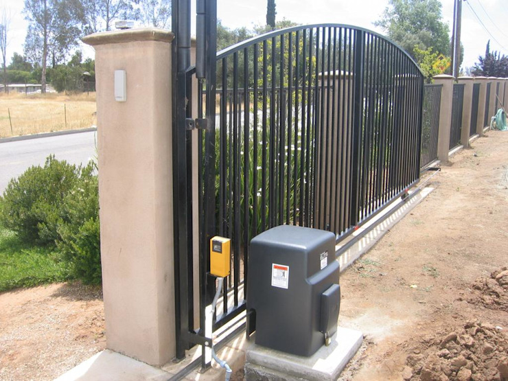 van Cape Town Security Gates