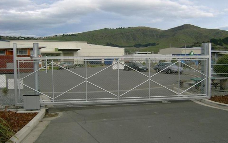 Commercial Security Gate Installation by Cape Town Security Gates