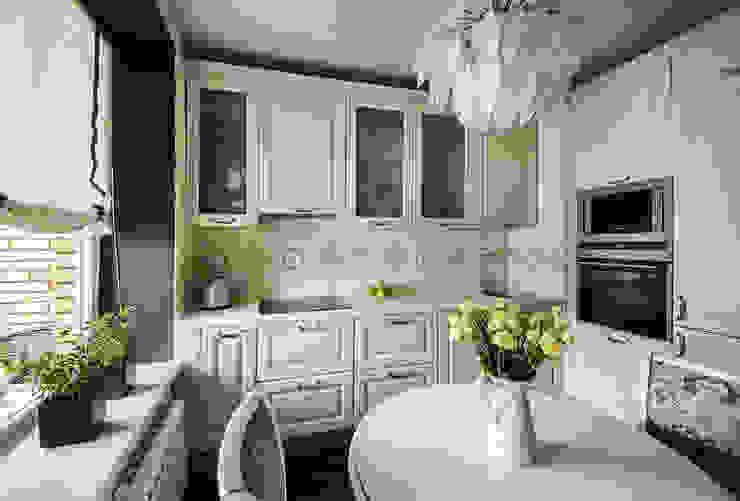 Кухня: Кухни в . Автор – Студия Анастасии Бархатовой, Эклектичный